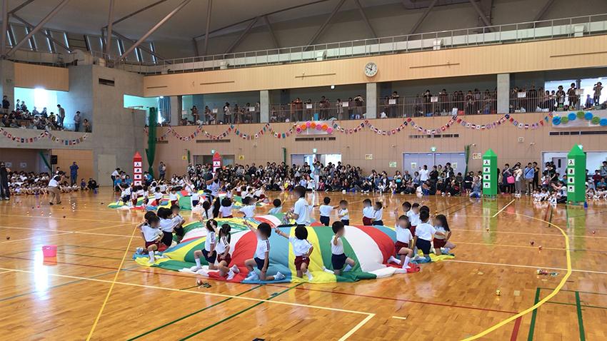 幼稚園 運動会撮影