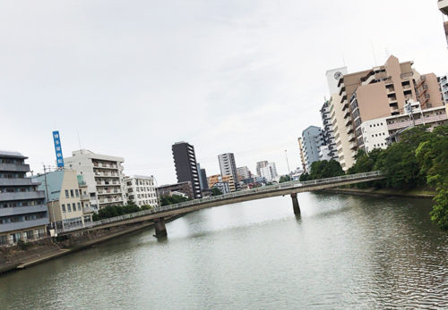 福岡市中央区清川